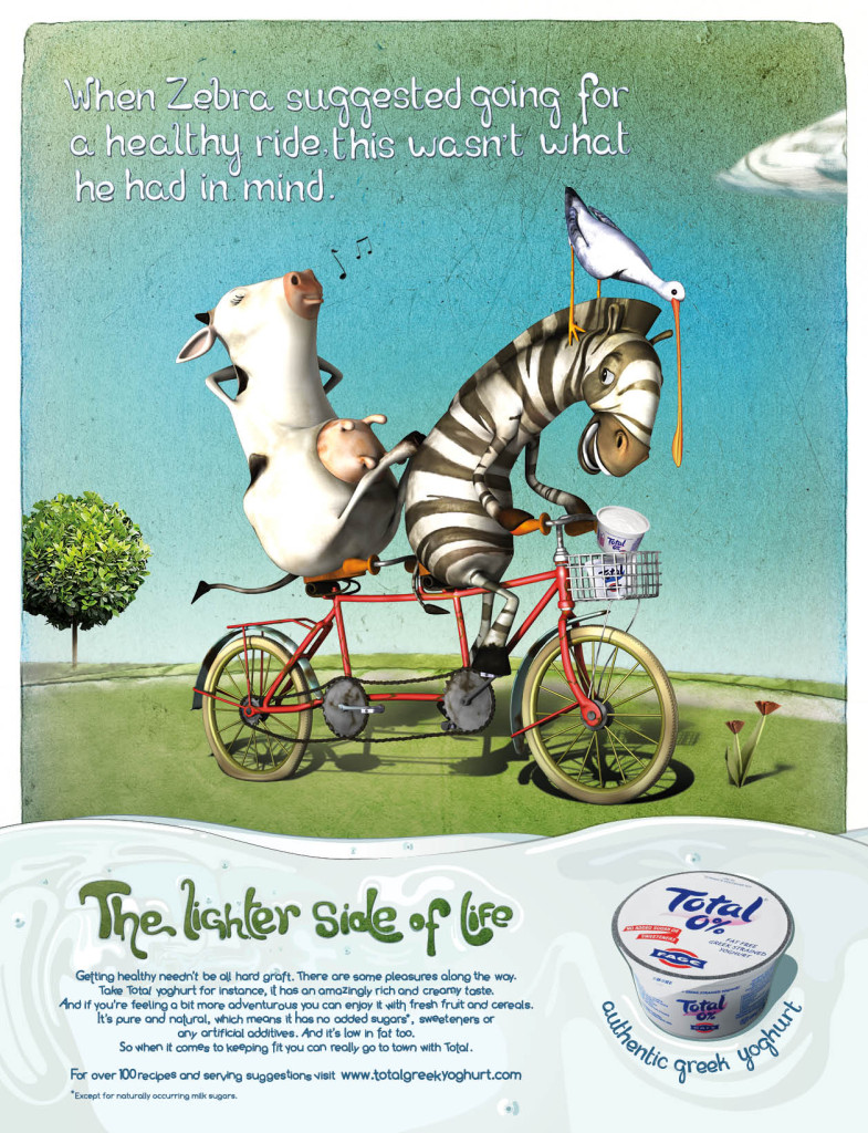 Total - Lighter Side of Life - Bike - 2011 -  Press